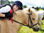 Me and Shador at our first show x - Pony (10 years)