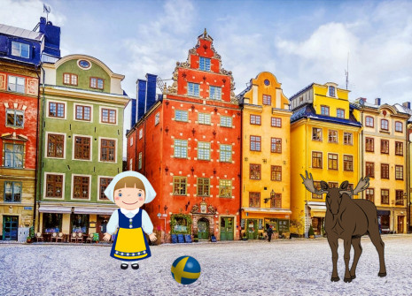 Get away from it all for the month of Sweden on Tropicstory!